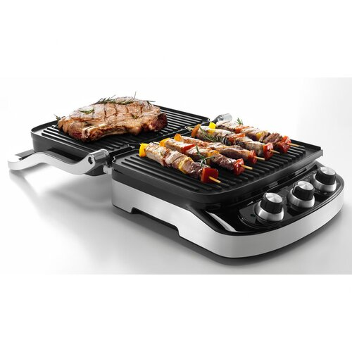 DeLonghi 5-in-1 Panini Press Grill and Griddle