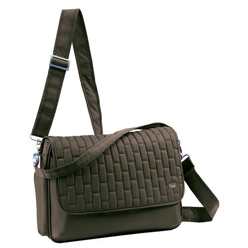 Lug Pontoon Horizontal Cross Body Bag