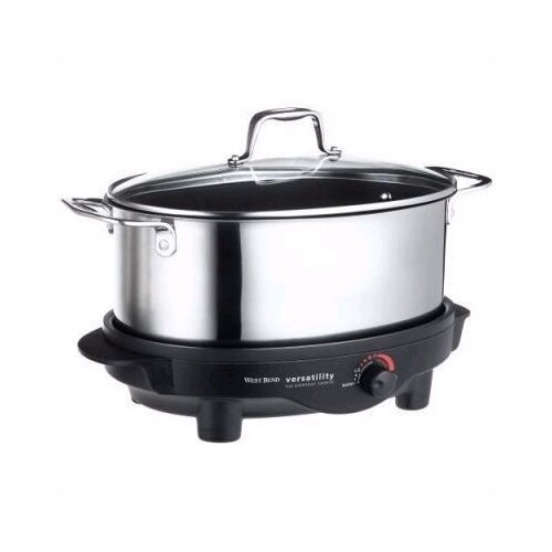 West Bend 6-Quart Versatility Slow Cooker