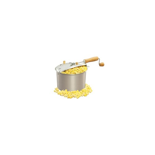 West Bend Aluminum Stove-top 6 Quart Popcorn Popper and Nut Roaster