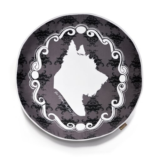 P.L.A.Y. Victorian Cameo Round Dog Pillow