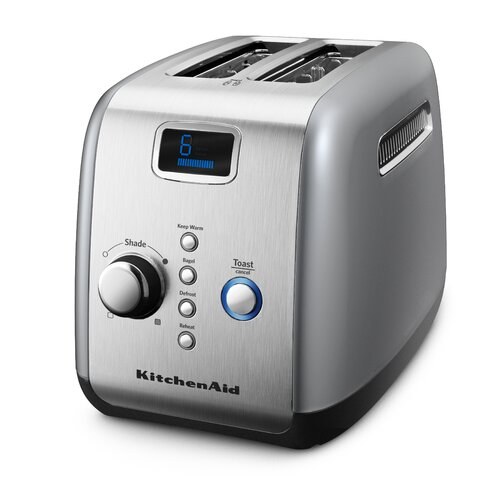 2-Slice Toaster with Motorized Lift