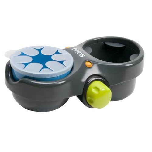 Brica Deluxe Snack Pod Ultimate Snack and Drink Cup Holder
