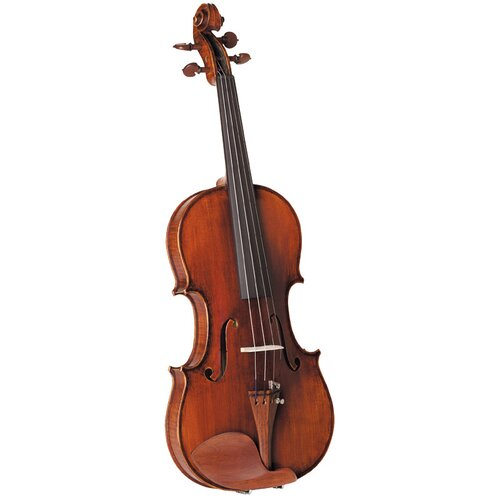 Saga Cremona Maestro Master Violin in Antiqued Brown