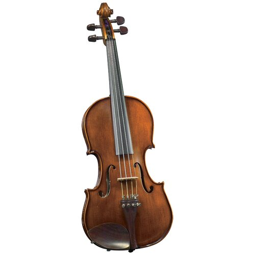 Saga Cremona Student 1/4-Size Violin Outfit in Translucent Brown