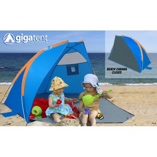 GigaTent Sand Castle Cabana Sunshade and Shower Enclosure