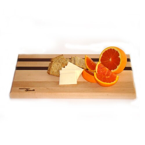 Tableboards Medium Maple Utility Cutting Board with Walnut Accent
