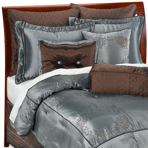 Luxury Home 9 Piece Elegant Oversized Comforter Set