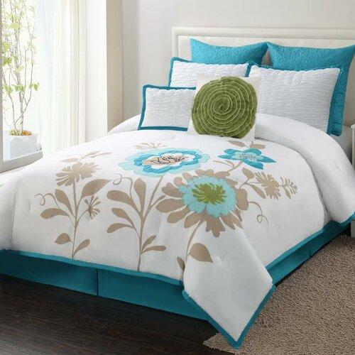 Blossom 8 Piece Comforter Set