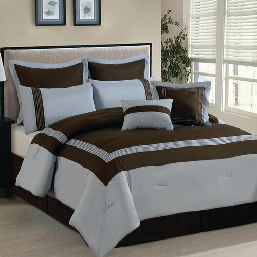 Luxury Home Ileana 8 Piece Comforter Set