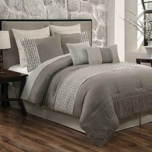 Fancy Bedroom Chairs Modern Zen Bedroom Rustic Chic Bedroom Decor Exclusive Bedroom Sets: Luxury Home City Scene 8 Piece Comforter Set & Reviews