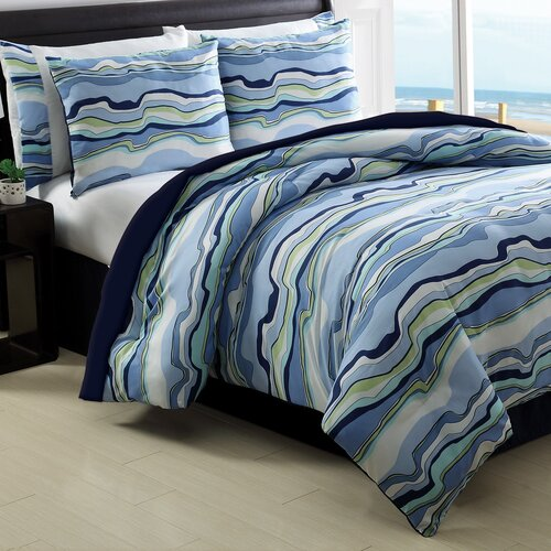 Sea Wave 8 Piece Bed in a Bag Set