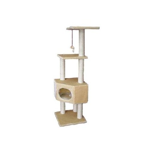 "Kitty Mansions 51"" Houston Cat Tree"