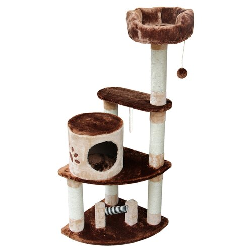 "Kitty Mansions 53"" Florence Cat Tree"
