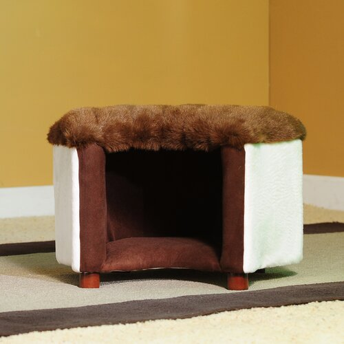 Fantasy Furniture Cat Silhouette Pet Bed