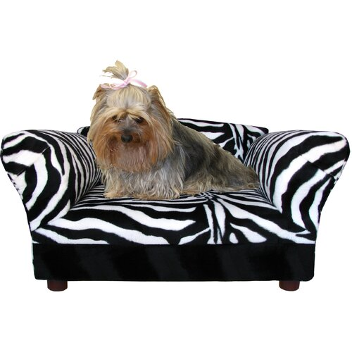Fantasy Furniture Mini Dog Sofa Bed With Wooden Legs
