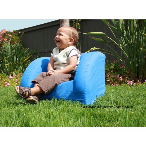 Fantasy Furniture Pure Organic Slipcover Kid's Club Chair