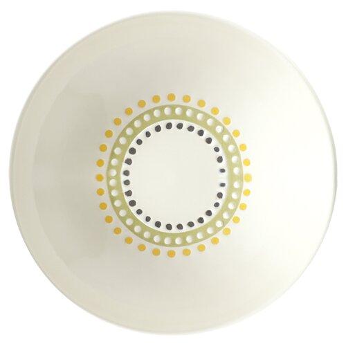 "Rachael Ray Circles and Dots 6"" Fruit Bowl"