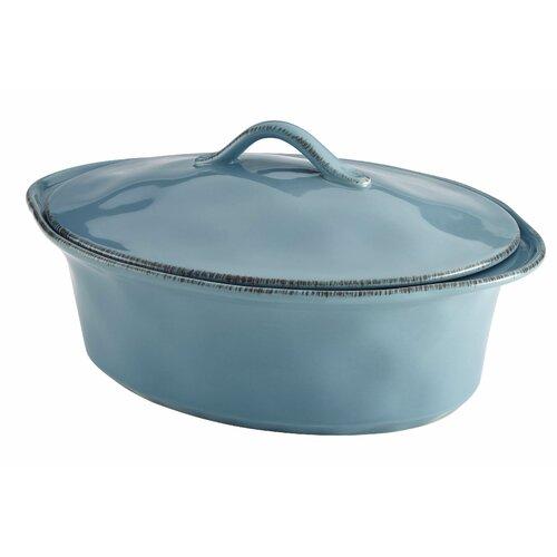 Cucina 3.5-qt. Stoneware Oval Casserole