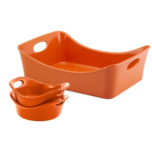 Rachael Ray Stoneware 3-Piece Set