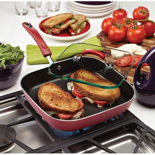 "Rachael Ray Porcelain II 11"" Non-Stick Griddle"