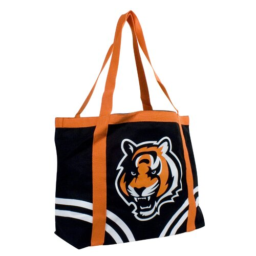 Little Earth NFL Canvas Tailgate Tote Bag
