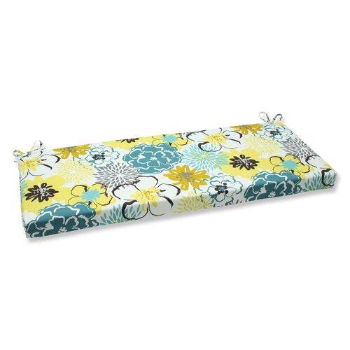 Floral Fantasy Bench Cushion
