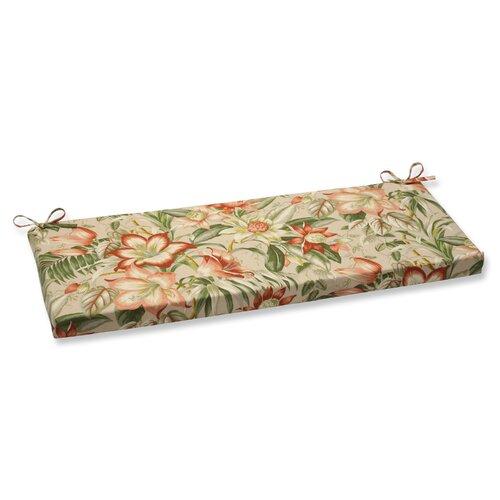 Botanical Glow Tiger Stripe Bench Cushion