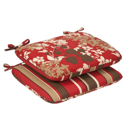 Pillow Perfect Reversible Seat Cushion