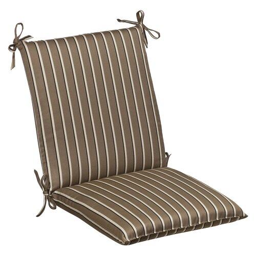 Outdoor Squared Sunbrella Fabric Chair Cushion