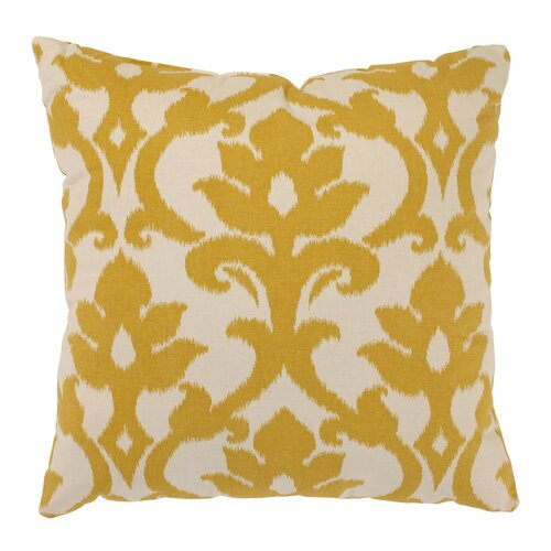 Azzure Throw Pillow in Marigold