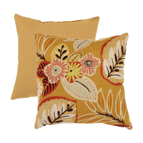 Pillow Perfect Tropical Throw Pillow