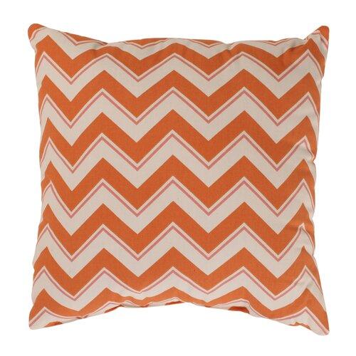 Pillow Perfect Chevron Cotton Throw Pillow
