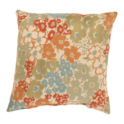 Pillow Perfect Meadow Polyester Throw Pillow