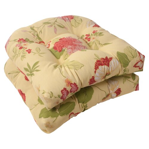 Pillow Perfect Risa Wicker Seat Cushion