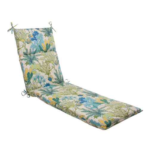 Pillow Perfect Splish Splash Chaise Lounge Cushion