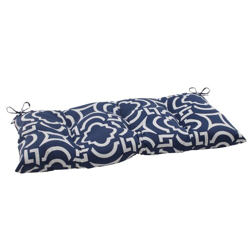 Pillow Perfect Carmody Tufted Loveseat Cushion