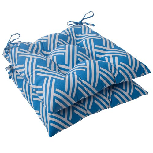 Pillow Perfect Carib Tufted Seat Cushion