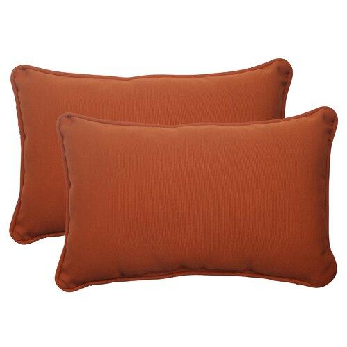 Cinnabar Corded Throw Pillow (Set of 2)