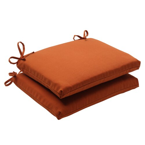 Pillow Perfect Cinnabar Seat Cushion