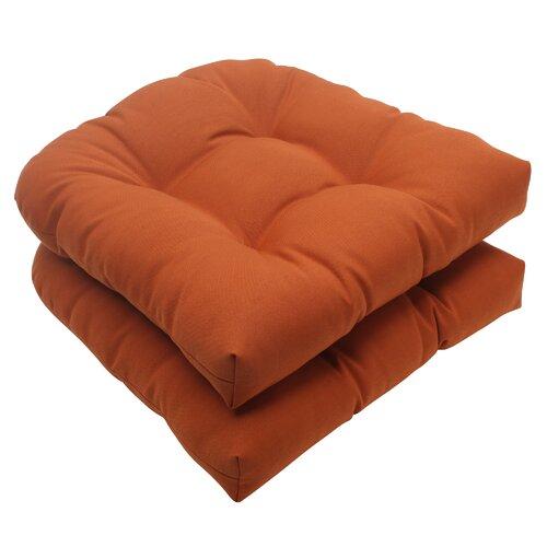 Cinnabar Wicker Seat Cushion (Set of 2)