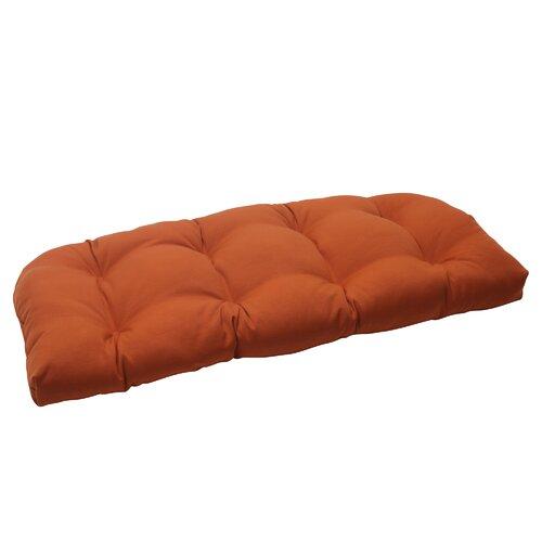 Cinnabar Wicker Loveseat Cushion