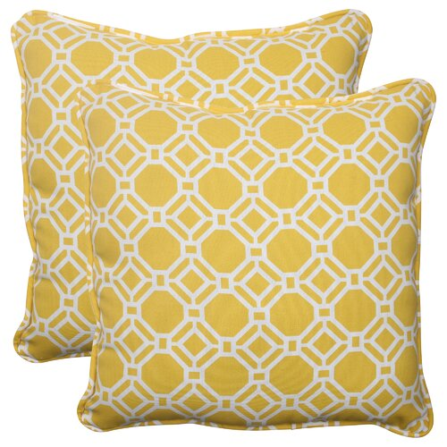 Pillow Perfect Rossmere Corded Throw Pillow