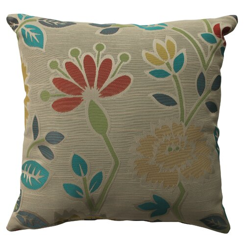 Pillow Perfect Floral Fiesta Polyester Pillow