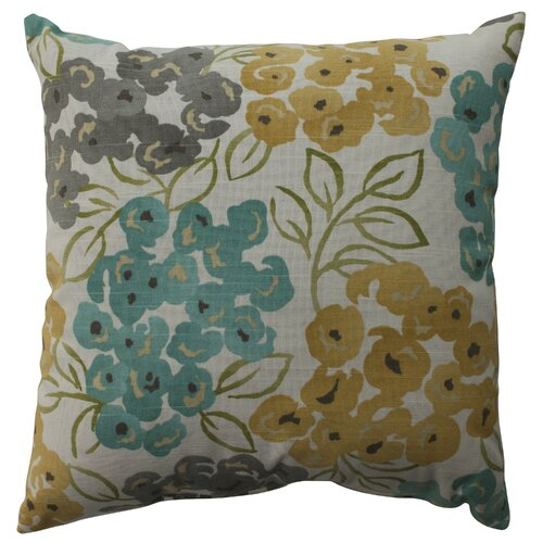 Pillow Perfect Luxury Floral Cotton Pillow