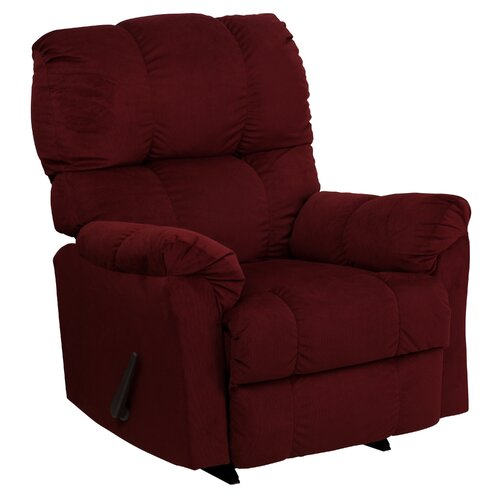 Flash Furniture Contemporary Top Hat Chaise Recliner