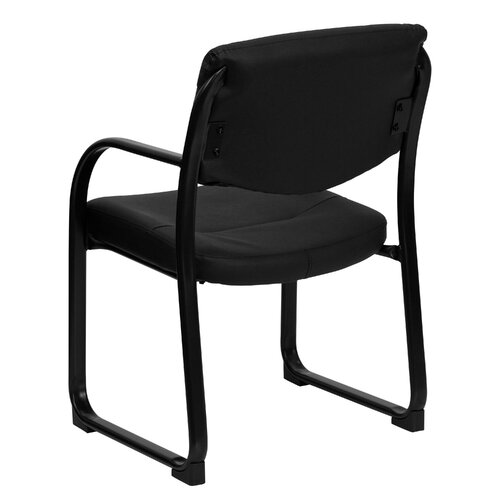 Flash Furniture Guest Side Chair with Sled Base
