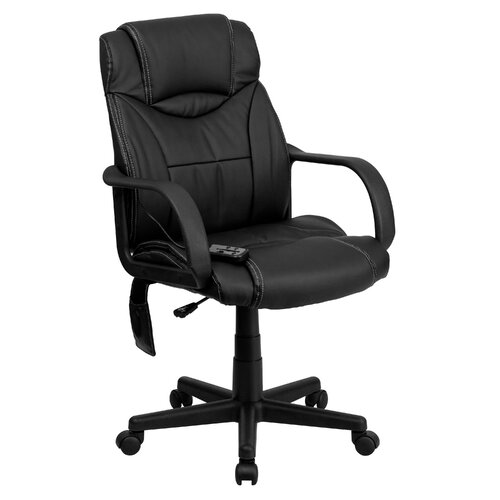 furniture high back leather executive swivel massaging office chair