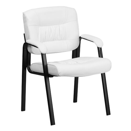 Flash Furniture Leather Guest / Reception Chair