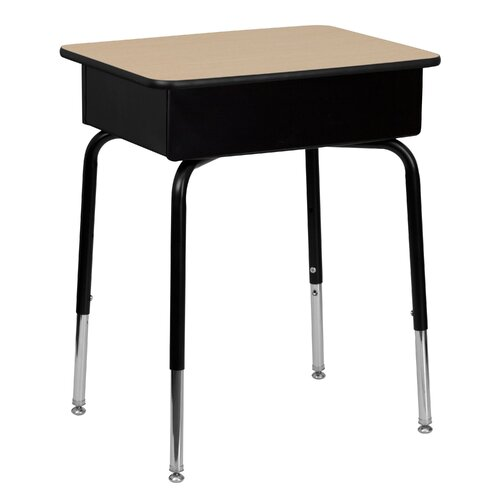 "Flash Furniture Natural Laminate 31"" Student Desk"
